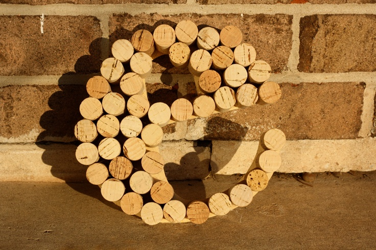 @ Bec - omg you need this (Lowe) for your kitchen!!! You can buy on etsy or craft yourself. Recycled Wine Cork letter