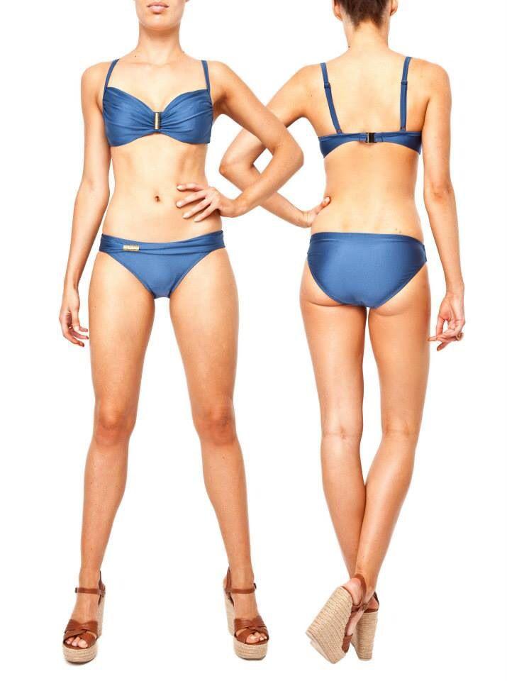 Siku wired bikini denim D-E cup