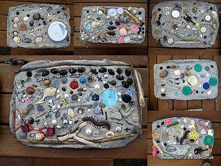 garden tile art by www.nurturestore.co.uk