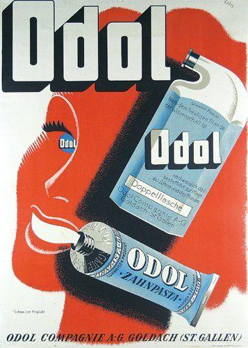 Herbert Berthold Poster Design 'Odol' 1930