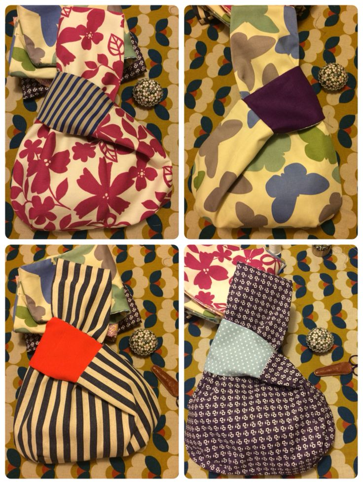Reversible Japanese knot bags                                                                                                                                                      More
