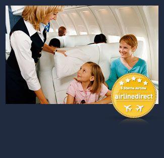 Billige Flüge buchen bei airline direct | Günstige Flug Angebote & Flugreisen