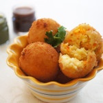 Carrot and Cottage/Ricotta Cheese Balls
