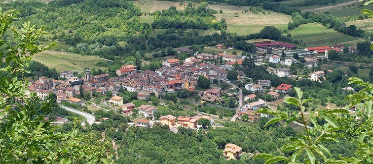 Village near L'Aquila Fossa