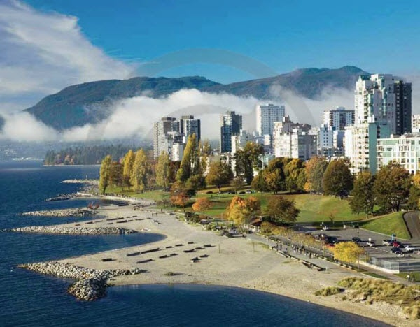 Vancouver, British Columbia - November 2014 Scenes of Canada Promotional Calendars