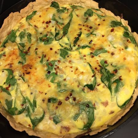 Quick n Easy Quiche Crust