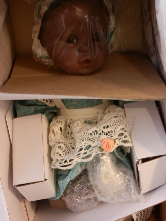 Yolanda Bello Danielle Porcelain c.1991 by JJandBAntiques on Etsy, $75.00