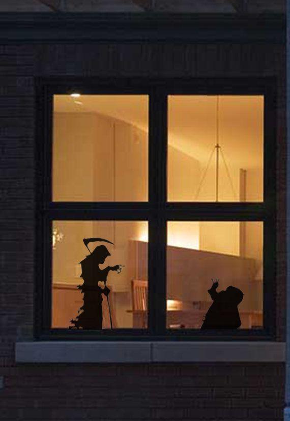 Statische halloween raamstickers http www wonderwerkplaats nl