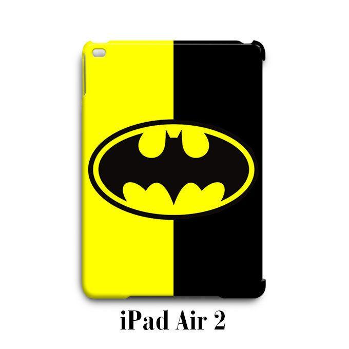 Batman Logo Black Yellow iPad Air 2 Case Cover