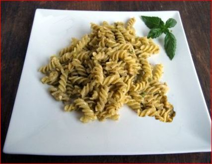 Fusilli aux pistaches recette italienne