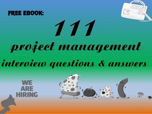 project manager scenario based interview questions