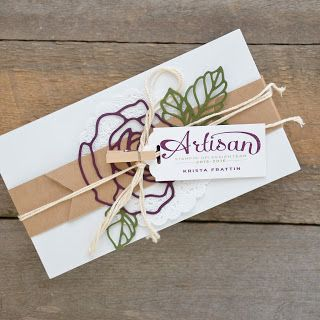 Stampin' Dolce: Krista Frattin was selected to be on the 2015-2016 Stampin' Up! Artisan Design Team!