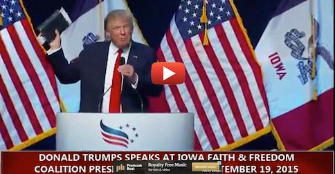 At Faith and Freedom forum, Trump vows to do one thing Obama refuses to