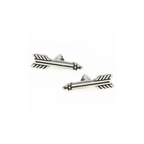 """""""Quetzal"""" Arrow Studs $6 http://www.milkymoon.com.au/products/quetzal-arrow-studs"""
