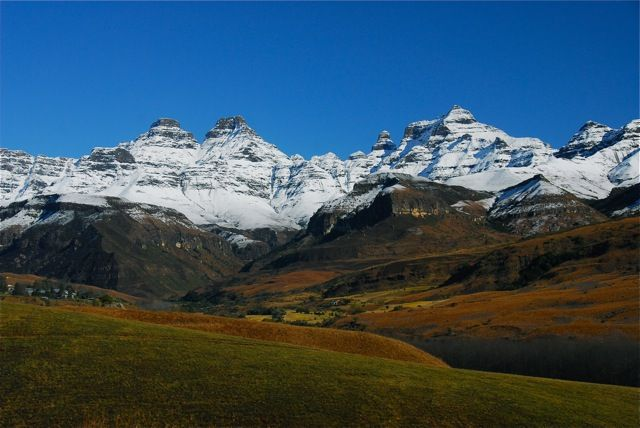 Paul Tosio - Cathedral Peak Drakensberg