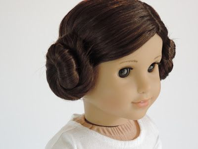 How to Do a Princess Leia Hairstyle on your American Girl Doll    #starwars #ag #agphotography #hairstyles #hairstyle #hair #princess #disneyprincess #princessleia #rogueone #americangirl