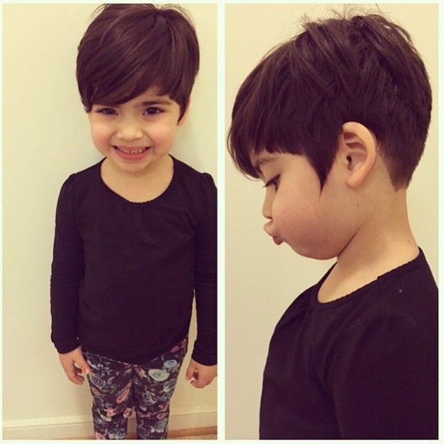 Remarkable 1000 Ideas About Kids Short Haircuts On Pinterest Little Girl Short Hairstyles Gunalazisus