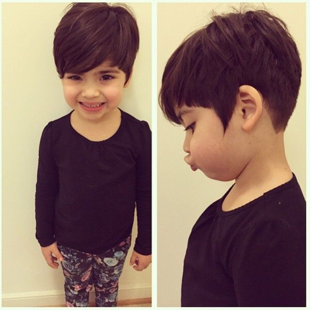 Tremendous 1000 Ideas About Kids Short Haircuts On Pinterest Little Girl Short Hairstyles Gunalazisus