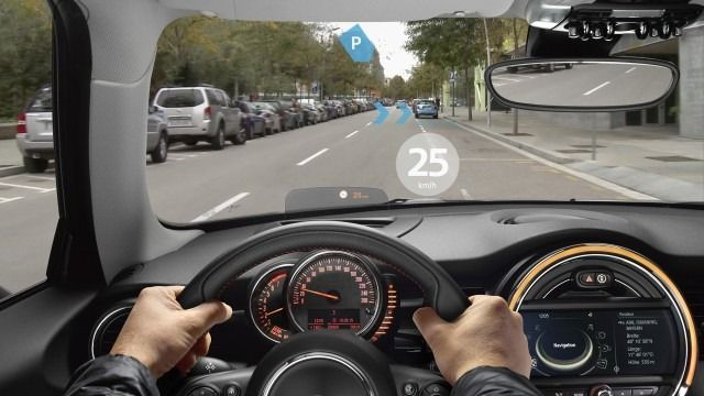 BMW steps into augmented reality with AR driving glasses for Mini