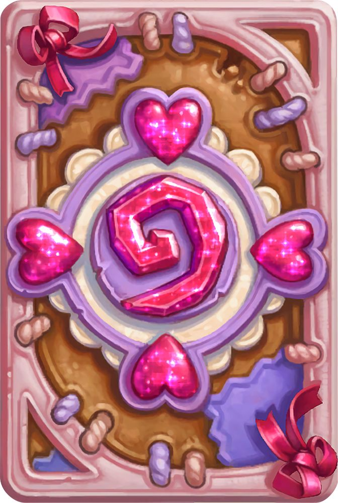 Card Back: Love is in the Air Artist: Blizzard Entertainment