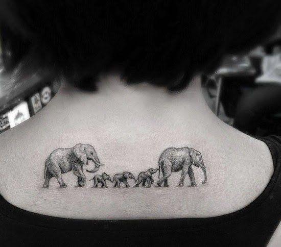 Tatuajes únicos que no importa el tiempo que pase, siempre serán los más importantes que puedes tener debido al significado tan personal.