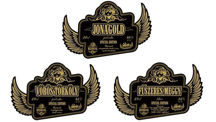 Rézangyal pálinka – special edition - Csomagolás - Sakál Design - csomagolástervezés, csomagolástervező, formatervezés - Sándor Róbert