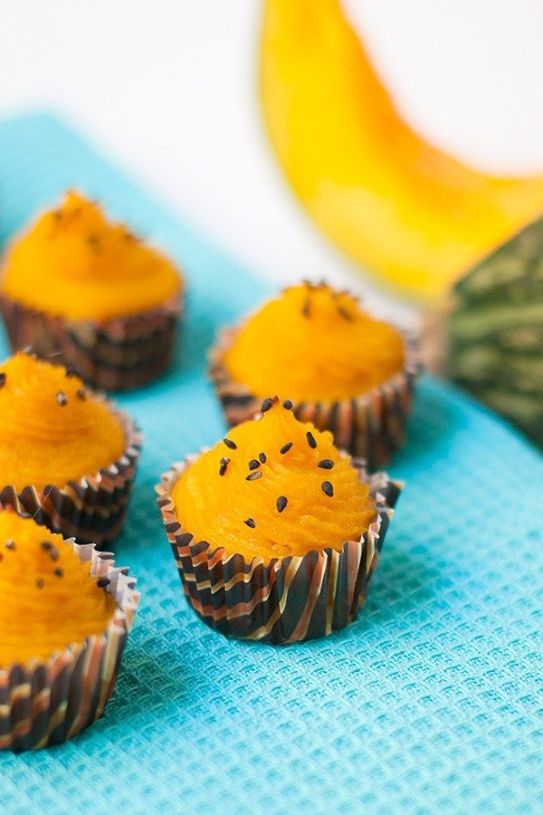 A healthy kabocha squash treat!