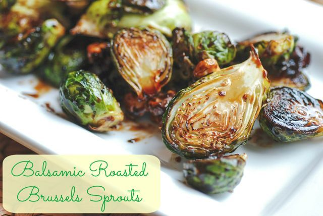 {Recipe} Roasted Balsamic Brussels Sprouts