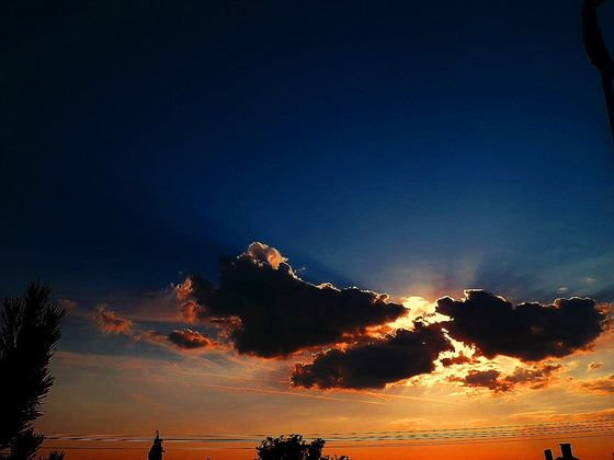#clouds #sun #sky #bluesky