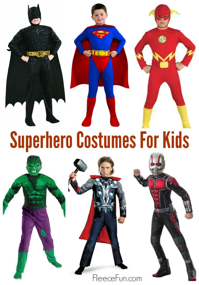 super hero costume ideas for kids - Heroes Halloween Costumes