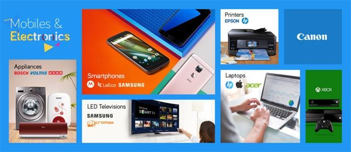 snapdeal mobile and electronics sale offer