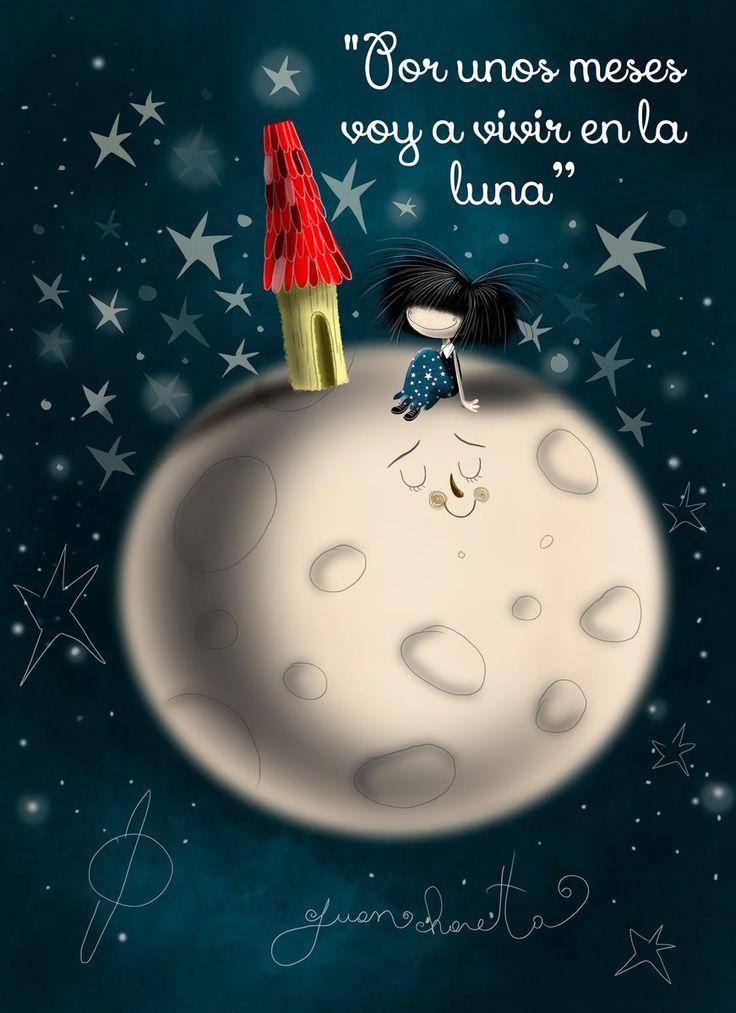 Por unos meses voy a vivir en la Luna*