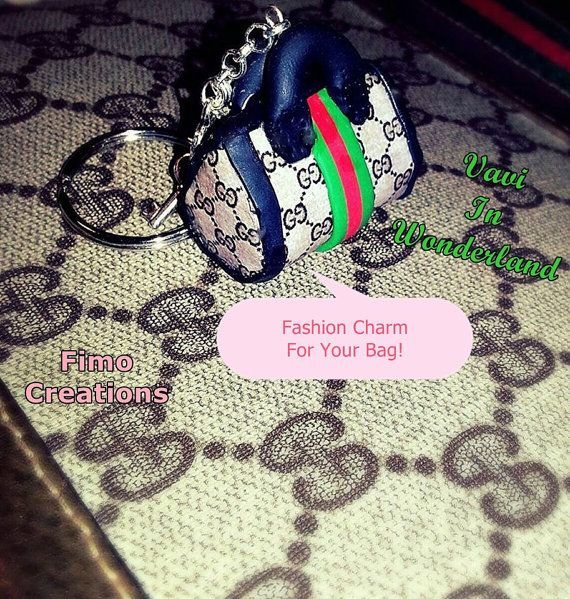 Guarda questo articolo nel mio negozio Etsy https://www.etsy.com/listing/225806362/keychain-fashion-italian-bag-handmade