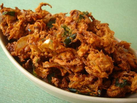 Cabbage pakodi