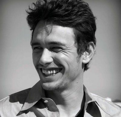 "The ""james franco smile"". Too cute."