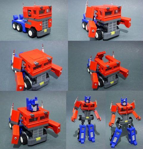Optimus Prime G1: A LEGO® creation by Devid VII : MOCpages.com