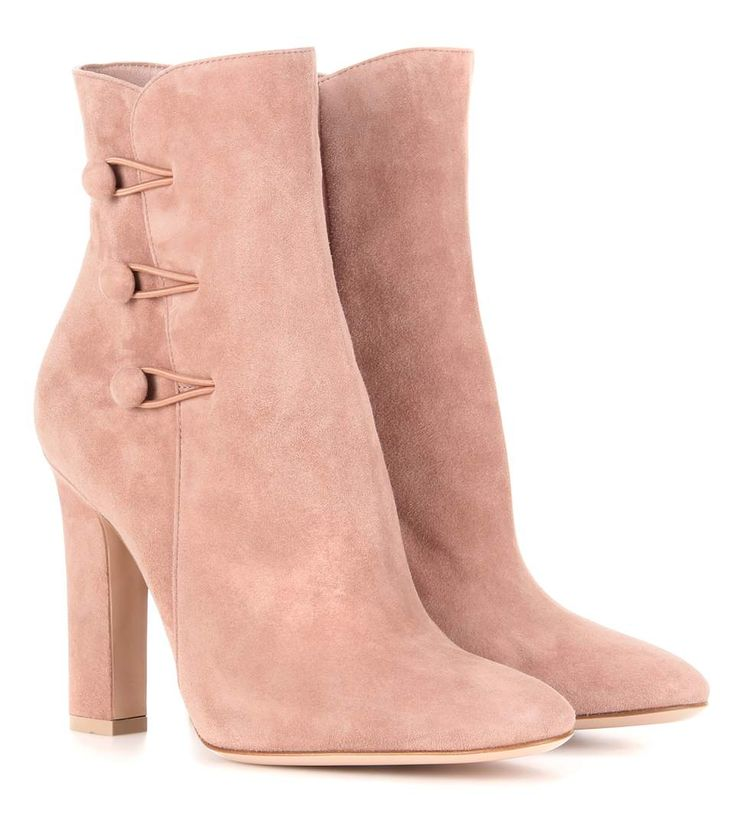 mytheresa.com - Savoie suede ankle boots - Luxury Fashion for Women / Designer clothing, shoes, bags
