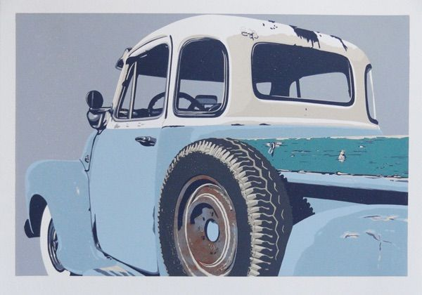 54 Chevy at Sue Greenwood Fine Art
