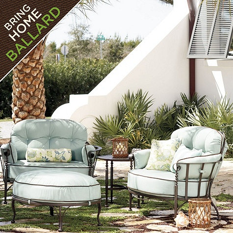 peaceful design ideas patio lounge furniture. Corsica Lounge Chair by Ballard Designs I ballarddesigns com 30 best wish list images on Pinterest