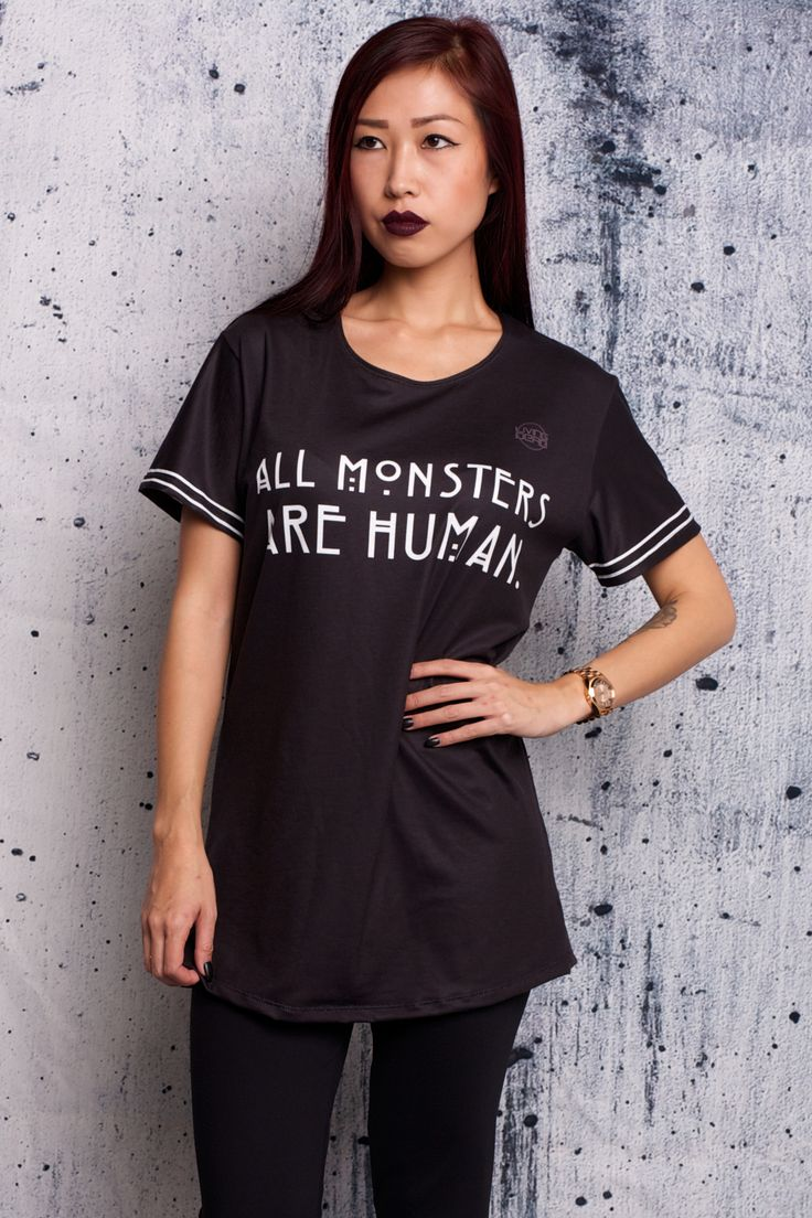 All Monsters Are Human Tee - $54 AUD