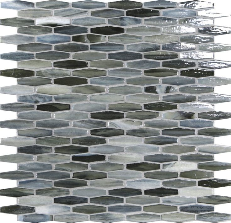 combined glass mosaic accent - photo #49