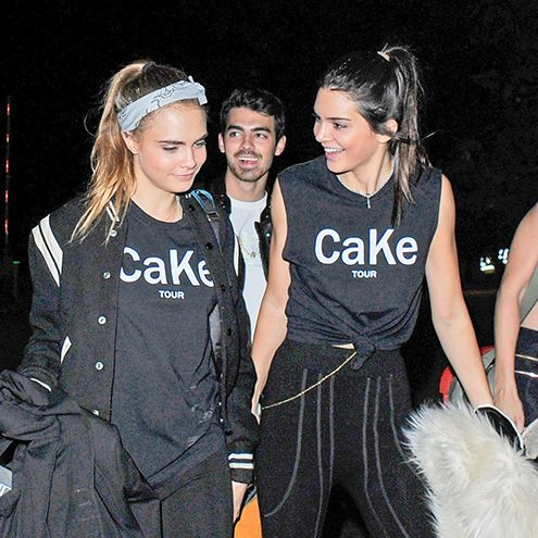 "Star Tracks: Monday, June 29, 2015 | HAVE YOUR CAKE | On Saturday, Kendall Jenner and Cara Delevingne took their friendship to the next level with ""CaKe"" t-shirts at Taylor Swift's concert in London. Joe Jonas also attended the show."