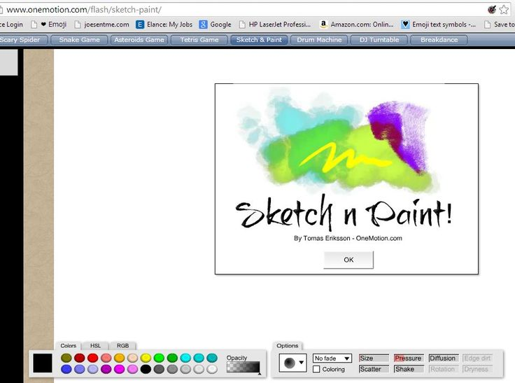 Online for Paint software online
