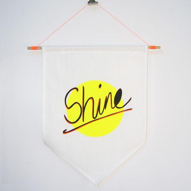 'Shine' Flag – Taylor + cloth handmade textiles + homewares