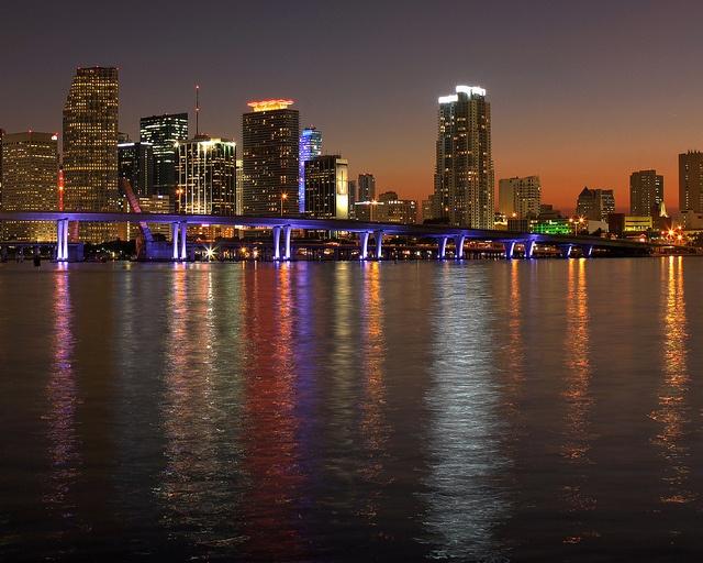 Downtown Miami by Eye Van, via Flickr