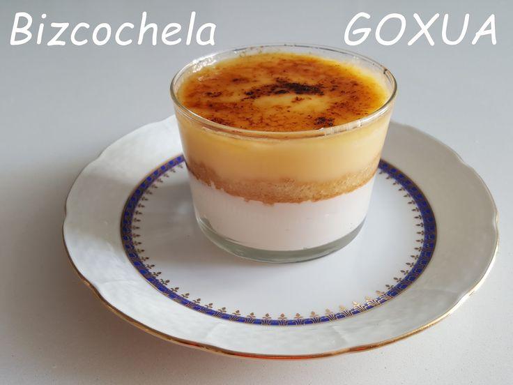 La receta dulce de esta semana es GOXUA, un postre tradicional de la cocina vasca, más concretamente, especialidad de la ciudad de Vitoria...