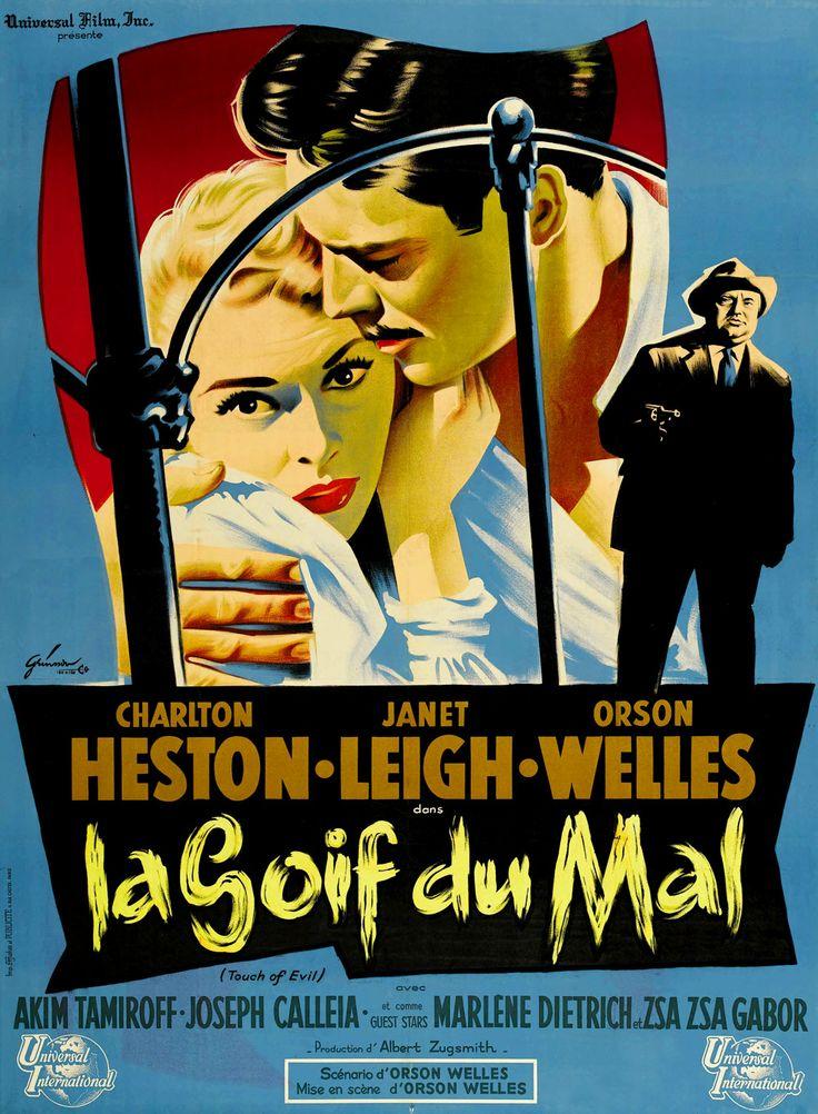 오손 웰즈, 악의 손길(Touch Of Evil 1958)