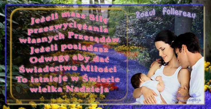 Odwaga Świadectwo Miłości Nadzieja Roaul Follereau  JasnowidzJacek.BlogSpot.com.