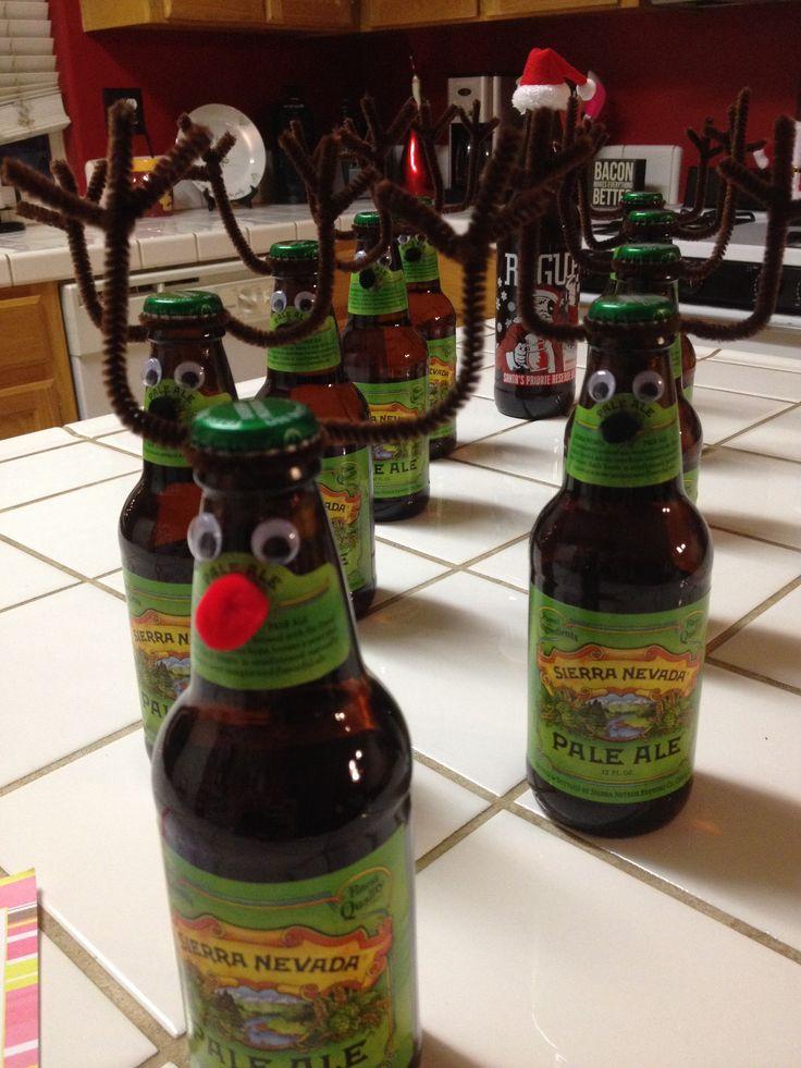 how to get glue off beer bottles