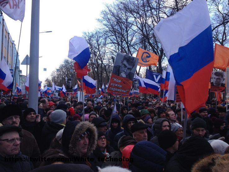 WHITE Technologies 2033: Марш Немцова III (2017). Наш репортаж